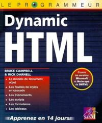 Kit de programmation HTML 4, Dynamic HTML - Deux ouvrages complémentaires pour créer des pages Web de qualité, interactives et dynamiques.pdf