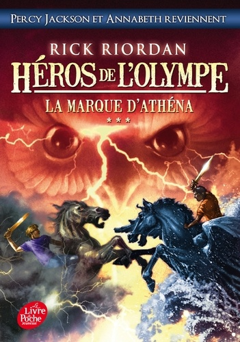 Héros de l'Olympe Tome 3 La marque d'Athéna