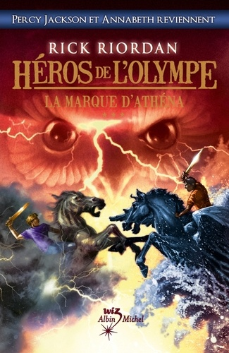 Héros de l'Olympe - tome 3. La Marque d'Athéna