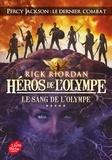 Rick Riordan - Héros de l'Olympe Tome 5 : Le Sang de l'Olympe.