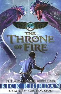 Rick Riordan - The Throne of Fire.