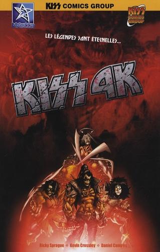 Ricky Sprague et Kevin Crossley - Kiss 4K - Les légendes sont éternelles....