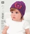 rico baby 009. Das kleine Rico Baby Handstrick Buch - 19 Designs für Babies von 0 bis 24 Monaten, Handstrickgarn rico baby cotton soft dk.