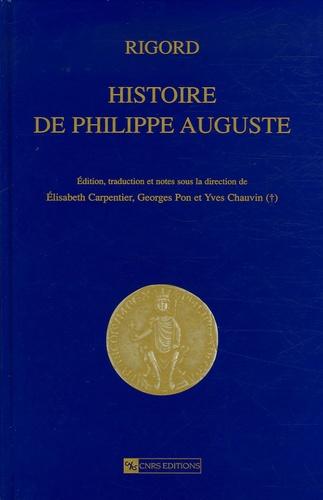 Rigord - Histoire de Philippe Auguste.