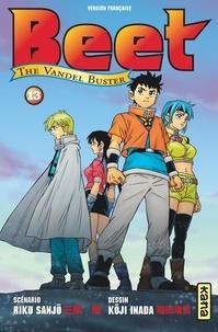 Riku Sanjô et Koji Inada - Beet The Vandel Buster Tome 13 : .