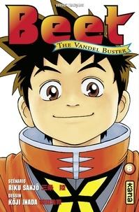 Riku Sanjô et Koji Inada - Beet the Vandel Buster - Tome 8.