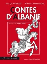 Rina Cela Grasset et Nathalie Carron Lanzl - Contes d'Albanie - Tome 1.
