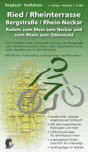 Ringbuch - Radfahren - Ried / Rheinterrasse / Bergstraße / Rhein-Neckar - 2. Auflage - Maßstab 1:35.000; radeln vom Main zum Neckar und vom Rhein zum Odenwald; von Frankfurt über Darmstadt entlang der Bergstraße nach Heidelberg und von Mainz über Oppenheim, Gernsheim, Bensh.