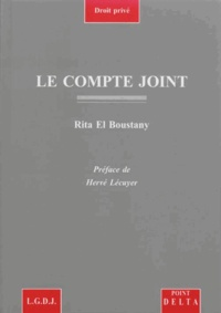 Rita El Boustany - Le compte joint.