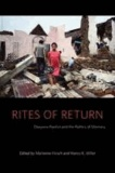 Rites of Return - Diaspora Poetics and the Politics of Memory.