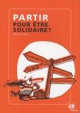 Ritimo - Partir pour être solidaire ?.