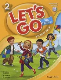 Ritsuko Nakata et Karen Frazier - Let's go 2 - Student Book. 1 CD audio