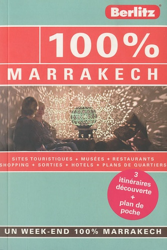 Rixt Albertsma - 100% Marrakech.