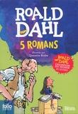 Roald Dahl - 5 romans - Coffret en 5 volumes : Sacrées sorcières ; La potion magique de Georges Bouillon ; Matilda ; Charlie et la chocolaterie ; Le BGG.