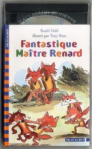 Roald Dahl et Tony Ross - Fantastique Maître Renard. - Avec CD-audio.
