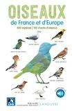 Rob Hume - Oiseaux de France et d'Europe - 800 espèces, 100 chants d'oiseaux. 1 CD audio