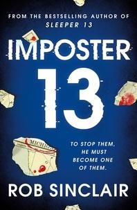 Un livre en format pdf à télécharger Imposter 13  - The explosive finale to the Sleeper 13 trilogy!