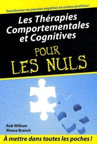 Rob Willson - Les thérapies comportementales et cognitives.