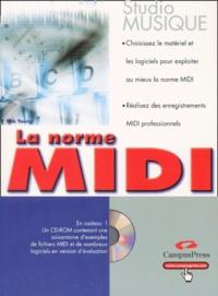 Rob Young - La norme MIDI. 1 Cédérom