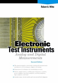 Electronic Test Instruments. 2nd edition - Robert-A Witte | Showmesound.org