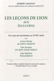 Robert Amadou - Les leçons de Lyon aux élus Coëns.