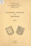 Robert Auclair et Jean Bonhomme de Montaigut - Généalogies limousines et marchoises (5).