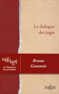 Accentsonline.fr Le dialogue des juges - Mélanges en l'honneur du président Bruno Genevois Image