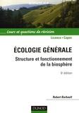 Robert Barbault - Ecologie générale - Structure et fonctionnement de la biosphère.