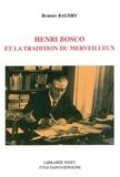 Robert Baudry - Henri Bosco et la tradition du merveilleux.