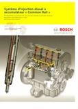 """Robert Bosch - Système d'injection diesel à accumulateur """"Common Rail""""."""