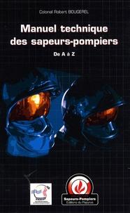 Deedr.fr Manuel technique des sapeurs-pompiers Image