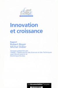 Robert Boyer et Michel Didier - Innovation et croissance.