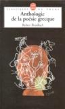 Robert Brasillach - Anthologie de la poésie grecque.