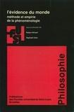 Robert Brisart et  Collectif - L'évidence du monde - Méthode et empirie de la phénoménologie.