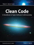 Robert-C Martin - Clean Code - A Handbook of Agile Software Craftmanship.
