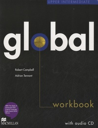 Robert Campbell et Adrian Tennant - Global Upper Intermediate. 1 CD audio