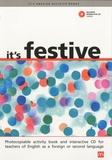 Robert Campbell et Lindsay Clandfield - It's festive. 1 CD audio