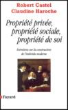 Robert Castel et Claudine Haroche - .