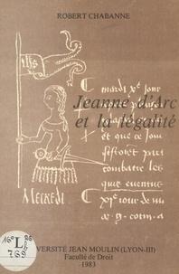 Robert Chabanne - Jeanne d'Arc et la légalité.