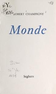 Robert Champigny - Monde.