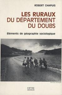 Histoiresdenlire.be Les ruraux du département du Doubs - Eléments de géographie sociologique Image