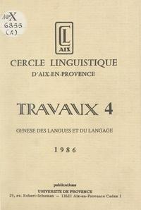 Robert Chaudenson et José Deulofeu - Genèse des langues et du langage.