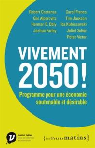Accentsonline.fr Vivement 2050! - Programme pour une économie soutenable et désirable Image
