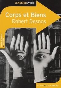 Livres gratuits en ligne pour télécharger des mp3 Corps et biens par Robert Desnos FB2