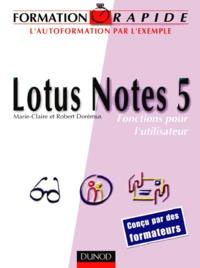 LOTUS NOTES 5. Fonctions pour lutilisateur.pdf