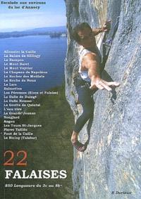 Robert Durieux - 22 Falaises de la région d'Annecy.