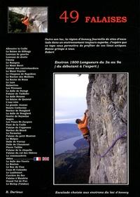 Téléchargez des livres gratuitement Falaises aux environs d'Annecy  - 49 falaises de la région d'Annecy par Robert Durieux en francais 9782951718258