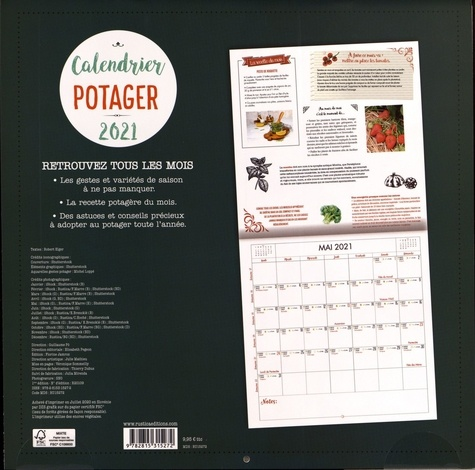 Calendrier Potager  Edition 2021