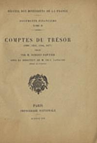 Robert Fawtier - Comptes du Trésor (1296, 1316, 1384, 1477).