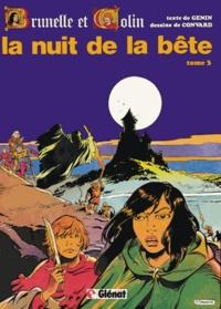 Robert Genin et Didier Convard - Brunelle et Colin Tome 3 : La nuit de la bête.